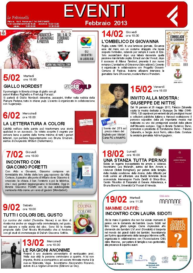 Presentazione Feltrinelli Padova 22 Febbraio 2013 - 1
