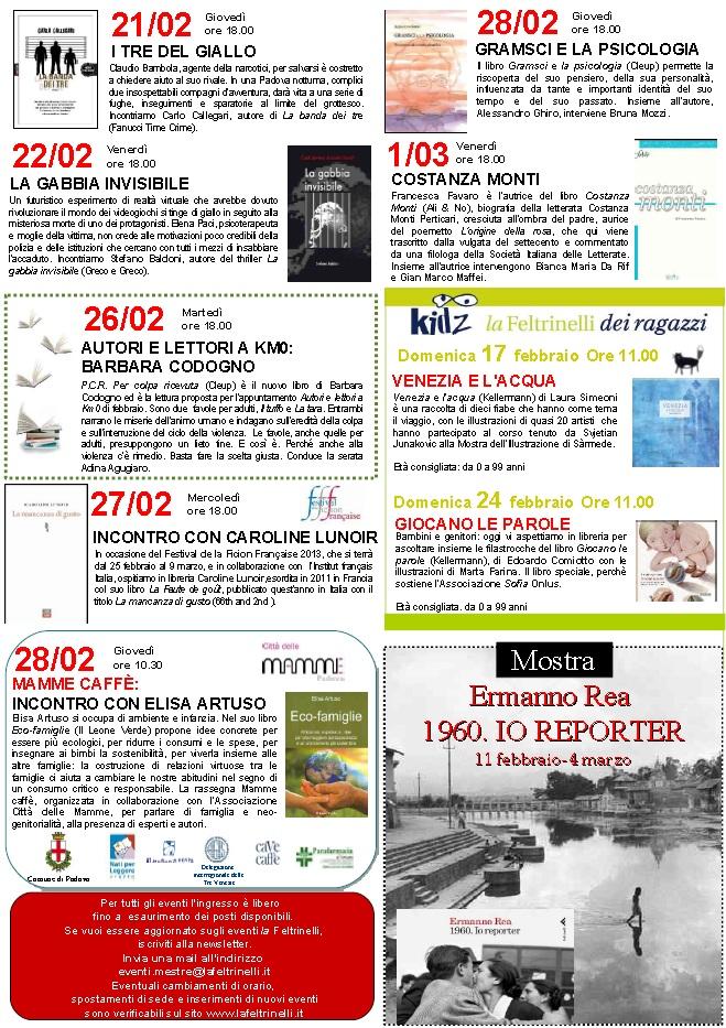 Presentazione Feltrinelli Padova 22 Febbraio 2013 - 2